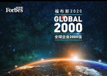 2020年全球企业2000强榜单公布:中国工商银行连续第8年蝉联榜首